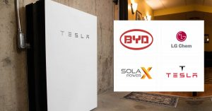 Solar Batteries - BYD, LG Chem, Solax Power, Tesla | Amazing Solar